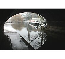 Wintery Regents Canal Photographic Print