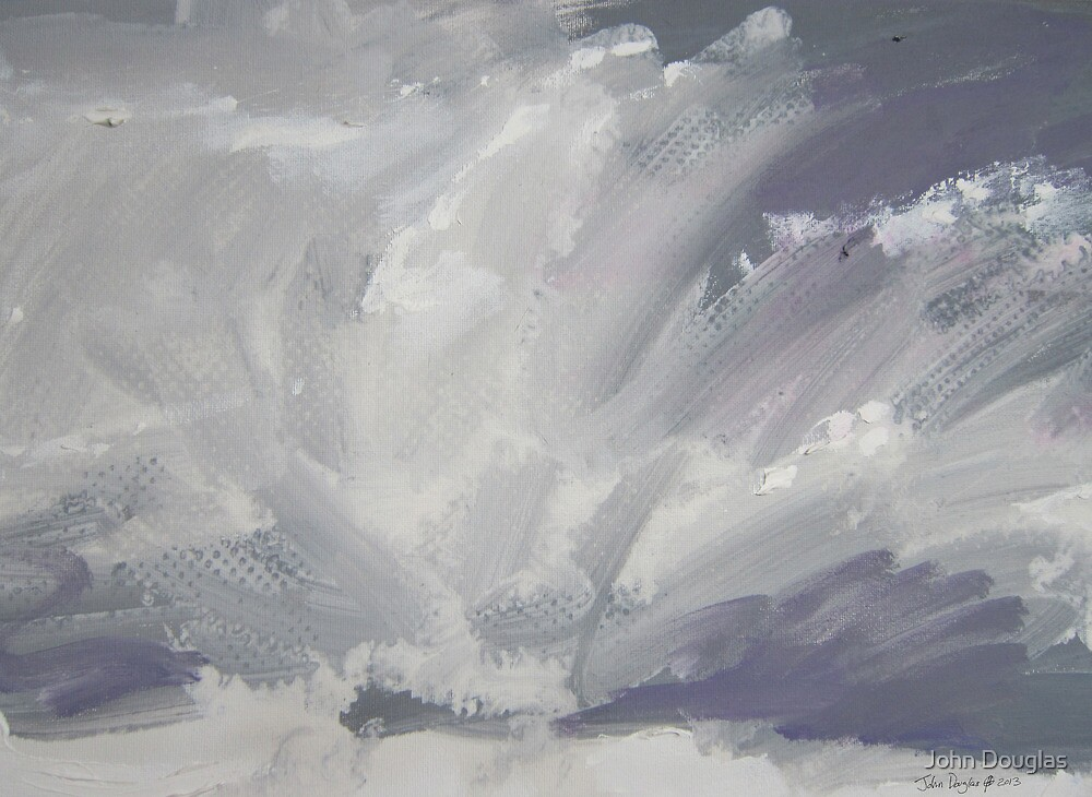 Cloud Study by John Douglas