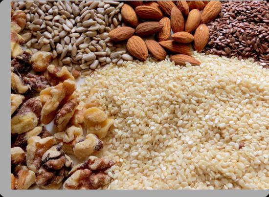 Nuts and Seeds... Brown Edible Plants And Nuts...top ten winner by trueblvr
