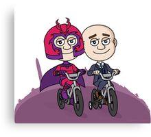 Magneto & Professor X Canvas Print
