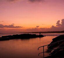 Rockpool sunset by Liam Robinson