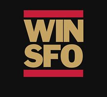 San Francisco 49ers WIN SFO (adult size) Unisex T-Shirt