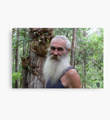 "Aussie ""Ocker"" Bushman Bloke Canvas Print"