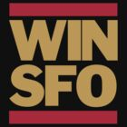 San Francisco 49ers WIN SFO (kids size) by Weapons of Moroland