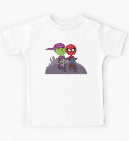 Green Goblin & Spidey Kids Tee