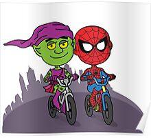 Green Goblin & Spidey Poster