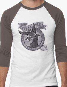 Toothless Fishing Company Men's Baseball ¾ T-Shirt