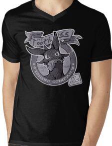 Toothless Fishing Company Mens V-Neck T-Shirt