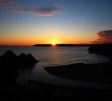 Three Cliffs Bay by Lucy Adams