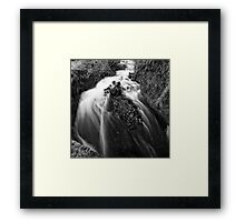River in Winter Framed Print