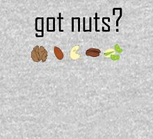 got nuts? (row of nuts) Unisex T-Shirt