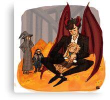 A Dragons Treasure Canvas Print