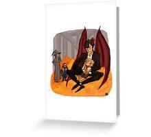 A Dragons Treasure Greeting Card
