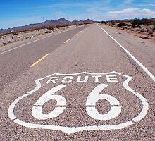 Route 66 by Lucy Adams