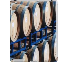 Rows of Barrels iPad Case/Skin