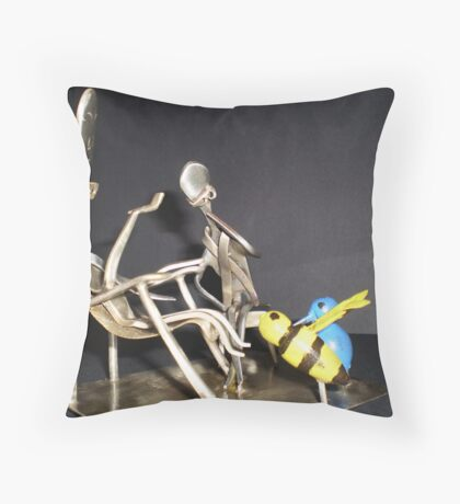The Birds and The Bees BC 95113 Throw Pillow