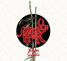 Ox (chinese zodiac) by BelleFlores