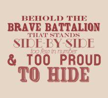 Behold the Brave Battalion - Newsies! by harperhoney