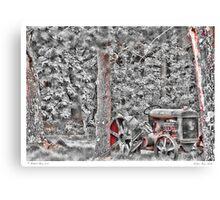 Fordson Farm Tractor Canvas Print