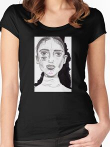 Eleanor Women's Fitted Scoop T-Shirt