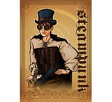 Steampunk Lady Photographic Print