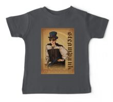 Steampunk Lady Baby Tee