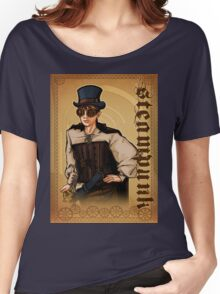 Steampunk Lady Women's Relaxed Fit T-Shirt