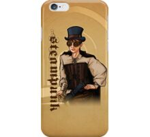 Steampunk Lady iPhone Case/Skin