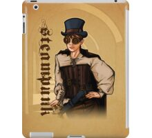 Steampunk Lady iPad Case/Skin