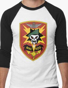 Military Assistance Command, Vietnam Crest Men's Baseball ¾ T-Shirt