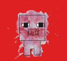 Splatter Pig - Minecraft inspired One Piece - Long Sleeve