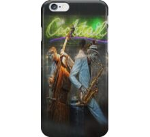 fifties cocktail jazz iPhone Case/Skin