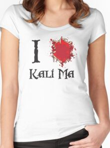 Indiana Jones I love Kali Ma Women's Fitted Scoop T-Shirt