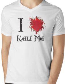 Indiana Jones I love Kali Ma Mens V-Neck T-Shirt