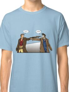 Captain Reynolds vs The Doctor Classic T-Shirt
