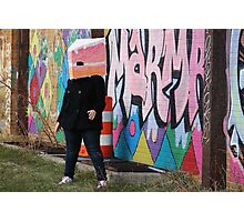 Danger - Detroit Graffiti Photographic Print