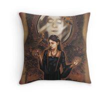 Renaissance Snow White Throw Pillow