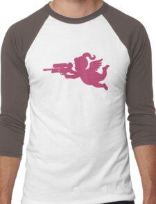 Supersoaker Cupid Men's Baseball ¾ T-Shirt