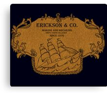 Erickson and Co. Canvas Print