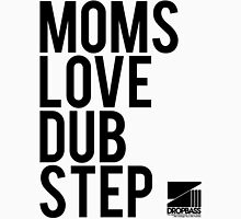 Moms Love Dubstep (black) Womens Fitted T-Shirt