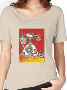 Telephone & Tea Women's Relaxed Fit T-Shirt