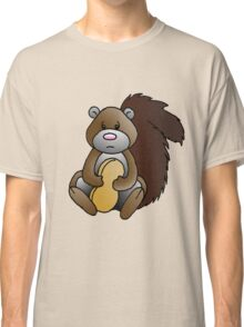 Squirrel with Penut Classic T-Shirt