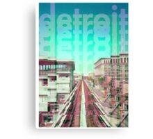 Detroit Monorail Canvas Print