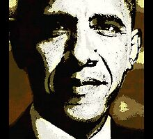 PRESIDENT BARACK OBAMA-44TH U.S PRESIDENT by OTIS PORRITT
