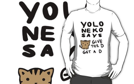 YOLO Neko Says: Give the D, Get a D by meepygal
