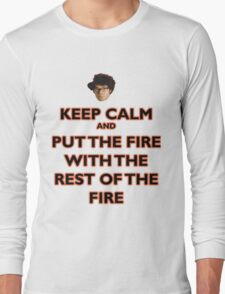 Moss from the IT Crowd Long Sleeve T-Shirt