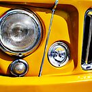 Yellow Willys Jeep Station Wagon headlight by htrdesigns