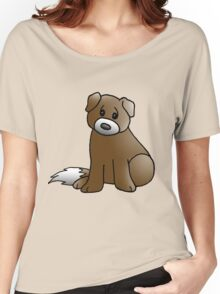 Cute Puppy Women's Relaxed Fit T-Shirt