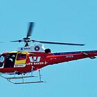 SURF RESCUE CHOPPER- ADELAIDE by JAMES LEVETT