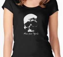 Alas Poor Yorick Women's Fitted Scoop T-Shirt